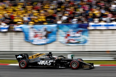 domingo en china haas otra carrera sin puntos