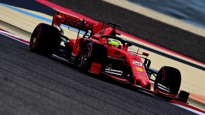 El debut de Mick Schumacher en Ferrari