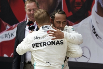 """Hamilton es precavido: """"Aún no vemos la situación real, el Ferrari es muy fuerte"""""""