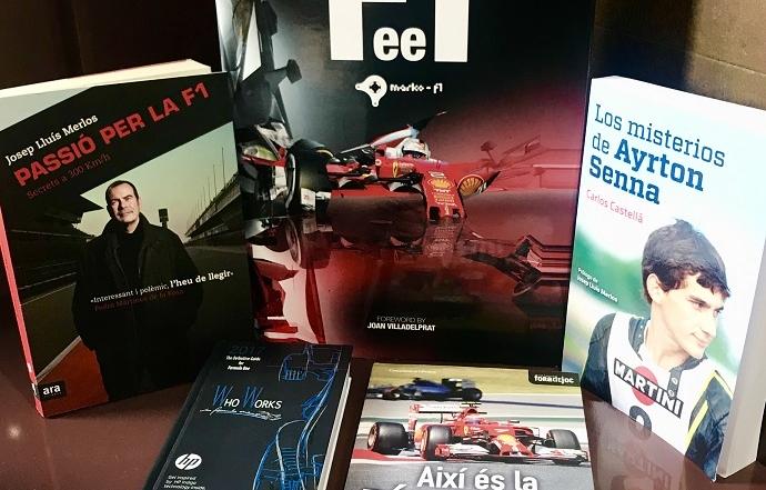 Recomendaciones sobre Fórmula 1 para el día del libro.