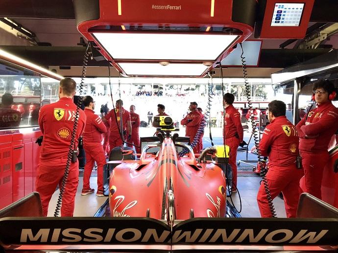 Sábado en Azerbaiyán - Ferrari: Vettel 3º; Leclerc 10º