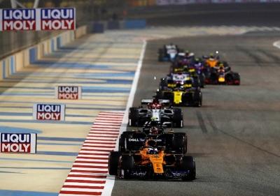 """Sainz, sobre el toque con Max: """"Si hay coche para intentarlo, se intenta"""""""