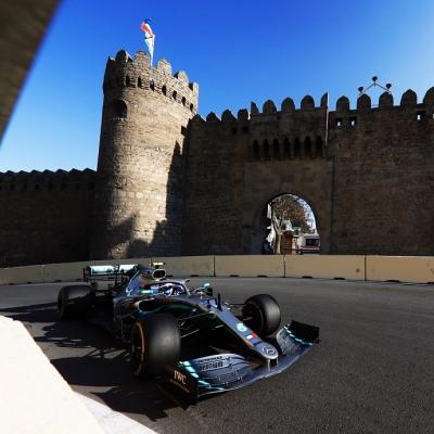 Viernes en Azerbaiyán - Mercedes: Una sola sesión no da para conclusiones