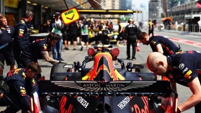 Viernes en Azerbaiyán - Red Bull: Gasly penalizado, saldrá desde el pit lane