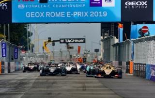 Zarpazo de Jaguar, Mitch Evans gana el Roma ePrix