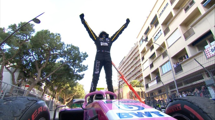 Anthoine Hubert se estrena en la carrera al sprint de Mónaco