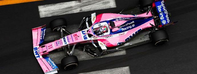 Jueves en Mónaco - Racing Point descolorido en 1er. contacto del GP más rosa del calendario