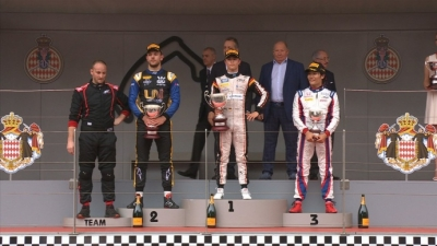 De Vries consigue la segunda victoria de la temporada en la carrera larga de Mónaco