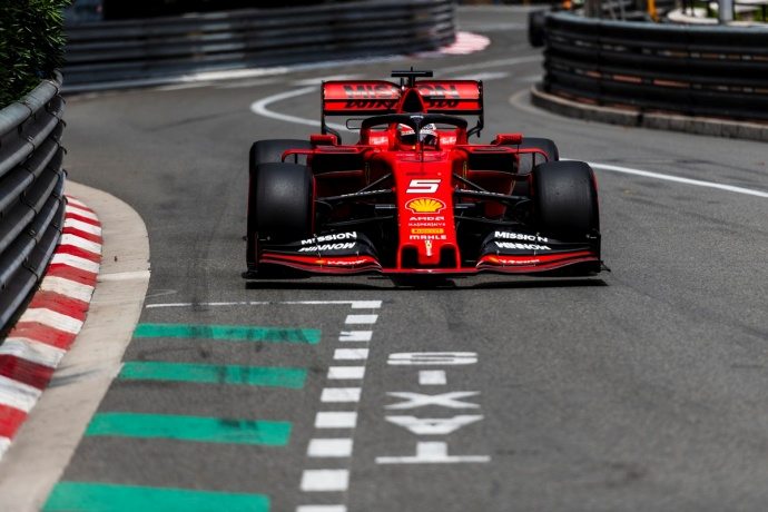 Domingo en Mónaco – Ferrari: Vettel cosecha un podio en un GP de pesadilla para Leclerc