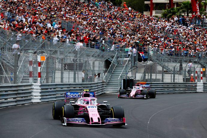 Domingo en Mónaco - Racing Point: El rosa sin glamur y sin puntos
