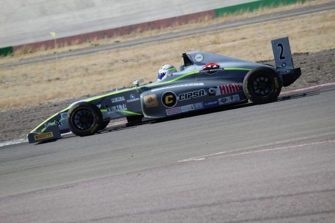 Sulaimán gana la carrera 1 en Aguascalientes, México en la F4 NACA