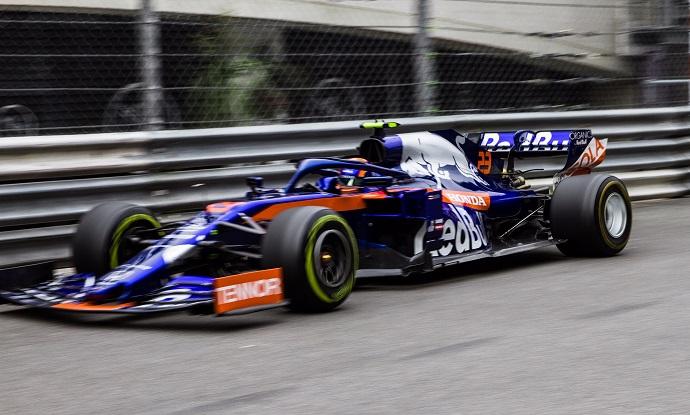 Jueves en Mónaco- Toro Rosso: Albon se coloca quinto en los FP2