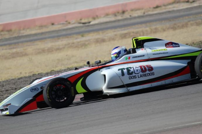 Sulaimán gana la carrera 1 en Aguascalientes, México en la F4 NACAM