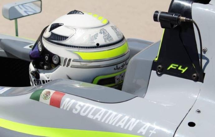 Sulaimán gana la carrera 1 en Aguascalientes México en la F4 NACAM