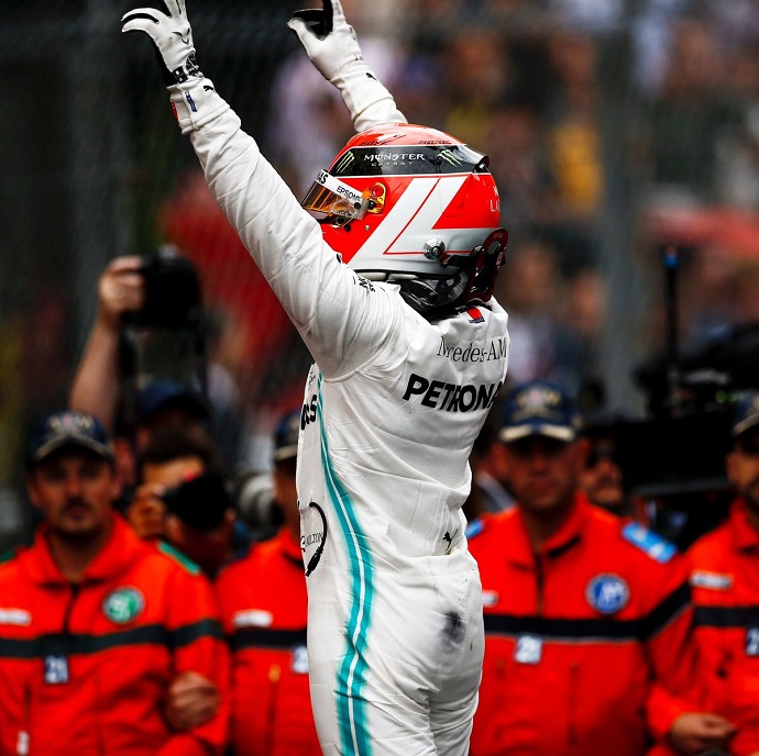 Domingo en Mónaco - Mercedes: Lewis Lauda, el príncipe de Mónaco