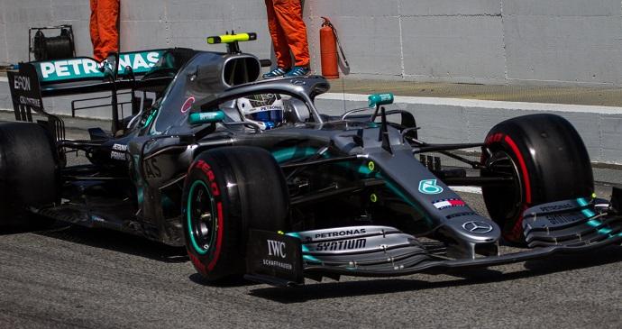 Sábado en España - Mercedes: Bottas, de nuevo en la pole