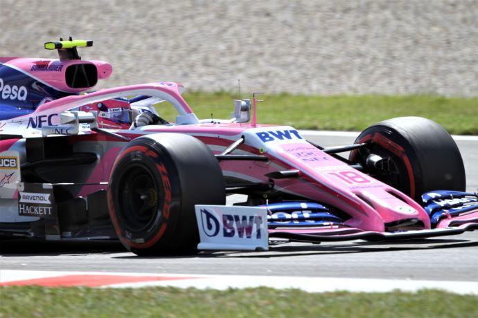 Domingo en España - Racing Point sale con el rosa deslavado de Montmeló