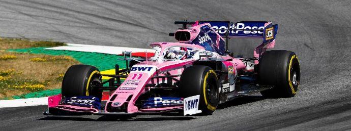 Domingo en Austria - Racing Point nuevamente fuera de los puntos