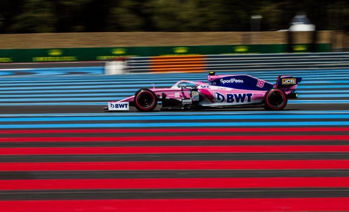 Viernes en Francia - Racing Point evalúa nuevo paquete Aero en 1er. contacto de Le Castellet