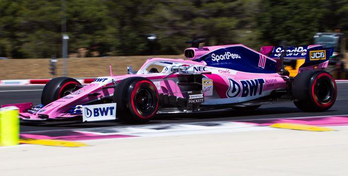 Sábado en Francia - Racing Point desvanece aspiraciones rosas eliminado en Q1 y Q2