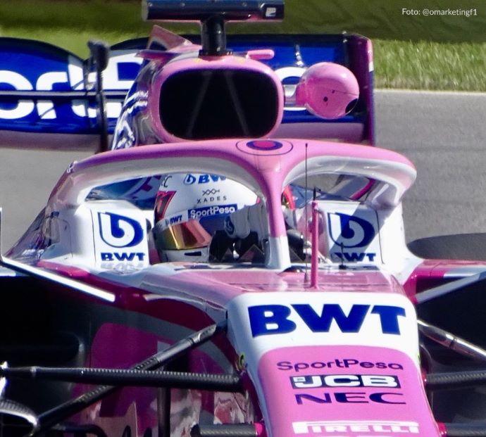 Sábado en Austria - Racing Point: El rosa palidece y es eliminado a la 1ª.