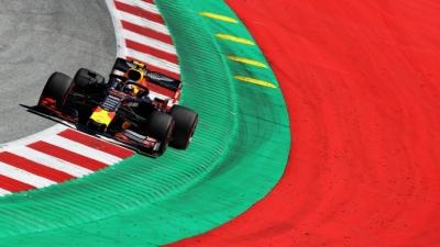 Viernes en Austria – Red Bull: Buenas sensaciones a pesar de un accidente de Verstappen