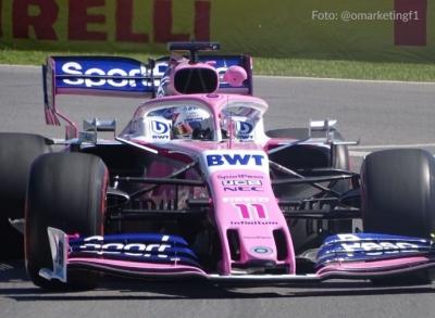 Viernes en Canadá - Racing Point pinta de rosa el Top 10