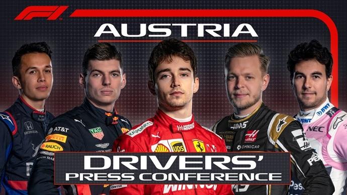 Conferencia de Prensa Pilotos Jueves – GP Austria 2019
