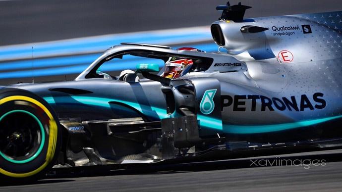 Crónica: Hamilton y Mercedes dominan de principio a fin y reclaman la victoria en el GP de Francia