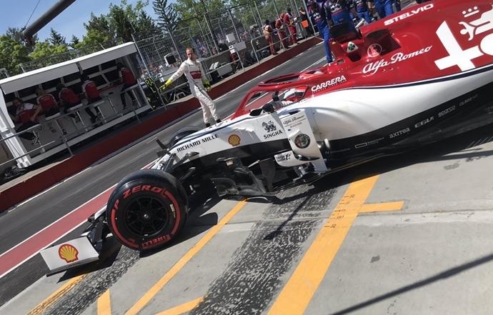 Domingo en Canadá - Alfa Romeo completa otro fin de semana para el olvido