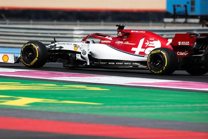 Domingo en Francia – Alfa Romeo: Resultados positivos y no positivos en Le Castellet