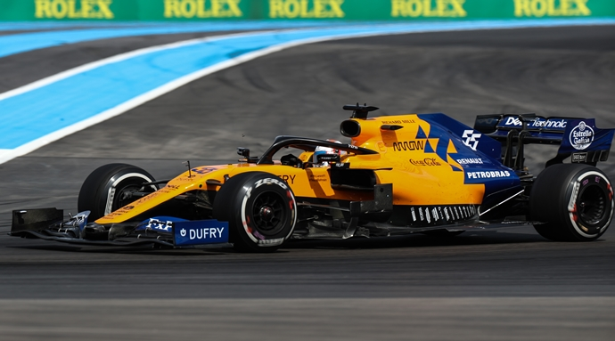 Domingo en Francia - McLaren: Mejora y satisfacción