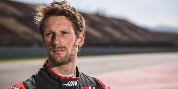 """Grosjean: """"Hay carreras en las que aprietas al 50%"""""""