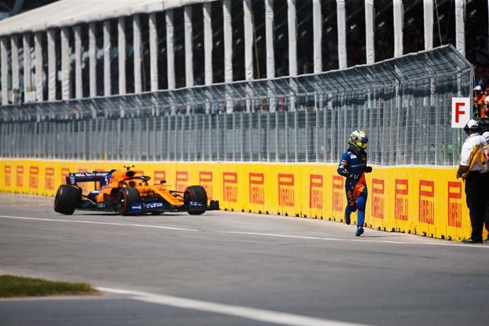 McLaren sigue investigando la razón exacta del extraño abandono de Norris