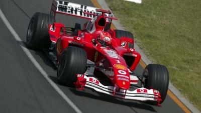 Mick Schumacher conducirá el Ferrari F2004 de su padre en una exhibición durante el GP de Alemania