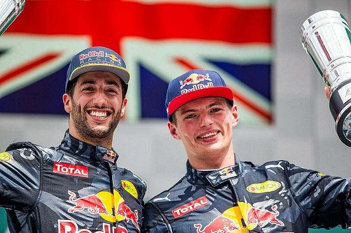 Ricciardo elige a Verstappen antes que a Vettel