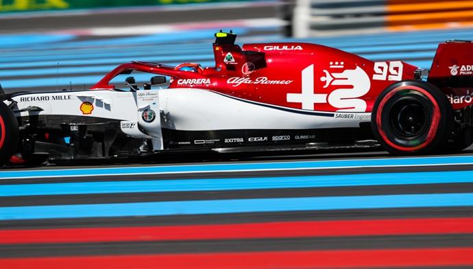 Sábado en Francia - Alfa Romeo mejora su ritmo y logra colarse dentro de la Q3