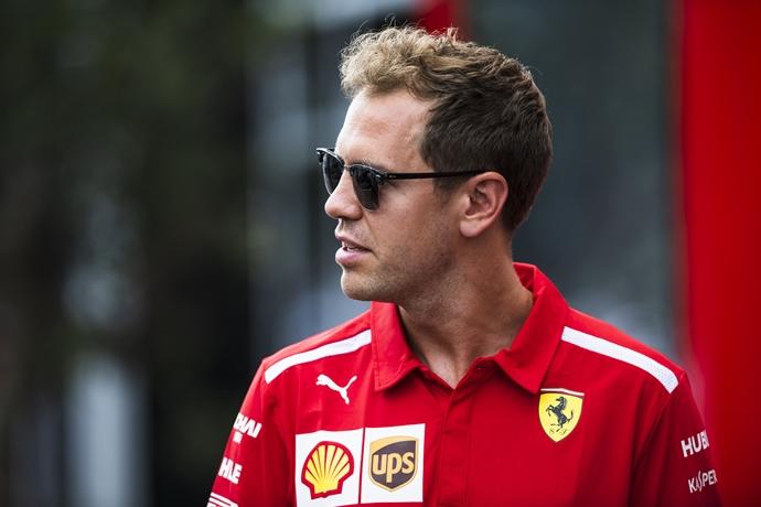 """Vettel sigue mostrando confianza ante la difícil situación de Ferrari: """"Sé que este equipo es fuerte"""""""