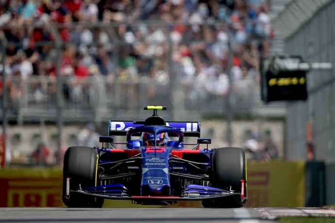 Viernes en Canadá - Toro Rosso: El desempeño del STR14, por debajo de lo esperado