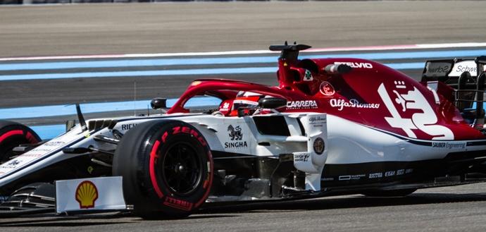 Viernes en Francia - Alfa Romeo inicia de buena forma el fin de semana en Le Castellet