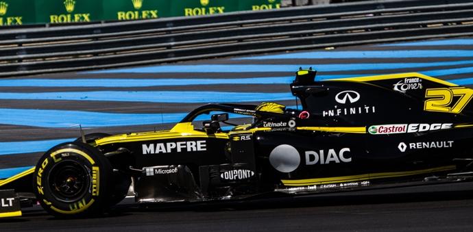 Viernes en Francia - Renault: Con un ritmo optimista