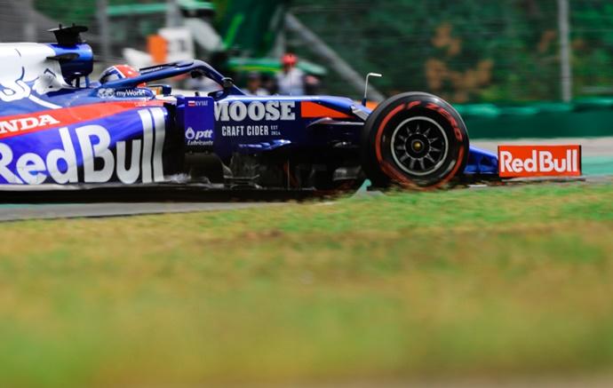 Sábado en Alemania - Toro Rosso: No fue suficiente