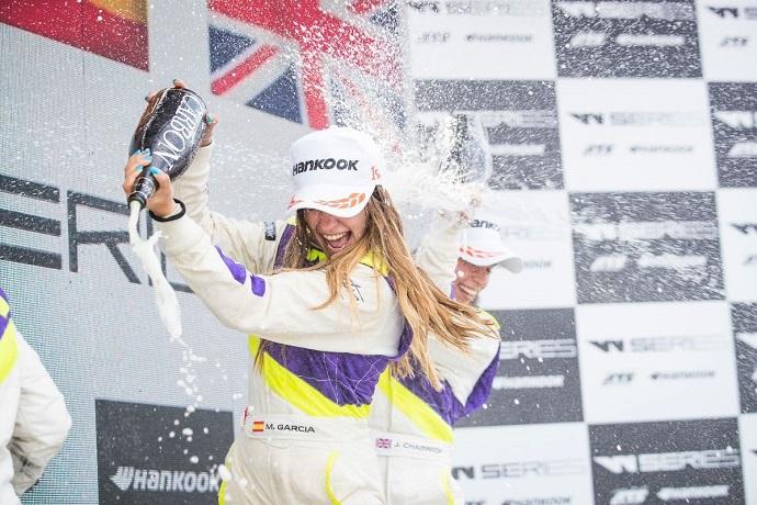 Crónica W Series Marta García gana en Alemania