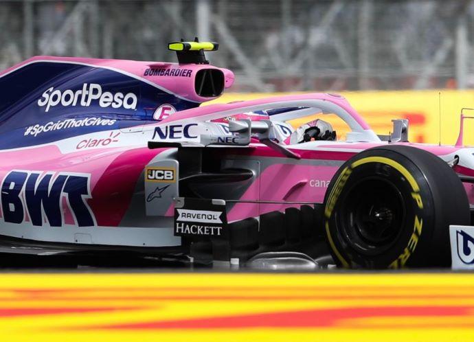 Domingo en Gran Bretaña - Racing Point sale de Silverstone sin puntos