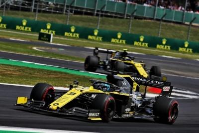 Domingo en Gran Bretaña – Renault: Los dos coches terminan en zona de puntos