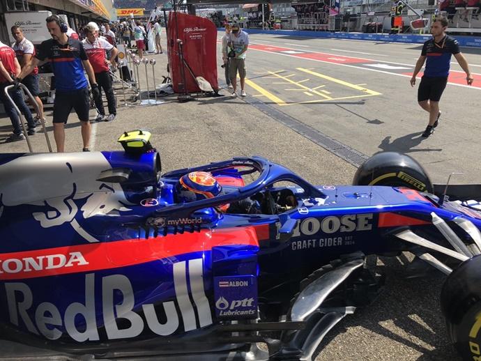 """Viernes en Alemania - Toro Rosso: """"En la búsqueda del setup adecuado para unas condiciones extremas"""""""