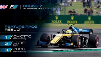 Ghiotto se lleva la carrera larga de Silverstone y se mantiene en la lucha por el título