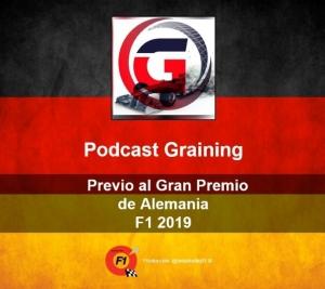 Podcast Graining No. 19 con la Previa del GP de Alemania 2019