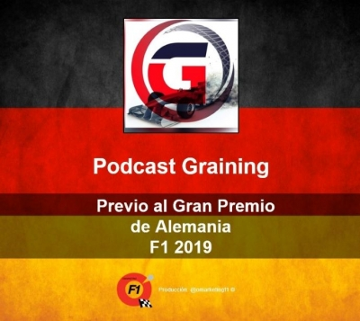 Podcast Graining No. 19 con la Previa del GP de Alemania 2019