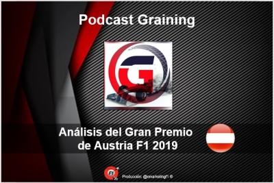 Podcast Graining No. 16 con el Análisis del GP de Austria 2019